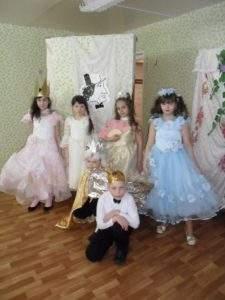Спектакль Принцесса на горошине