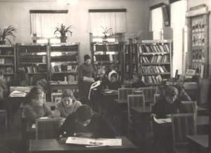 читальный залЦБ,70-е года